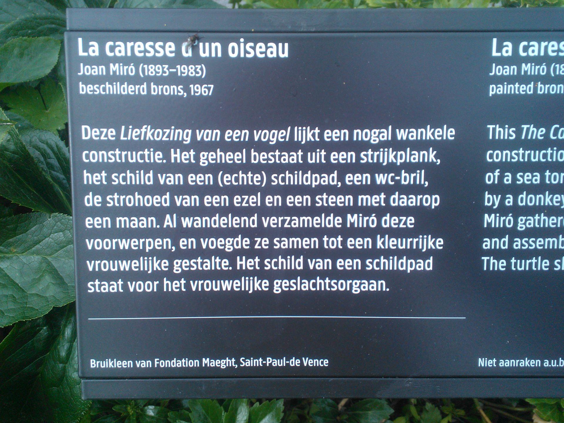 Joan Miró Rijksmuseum