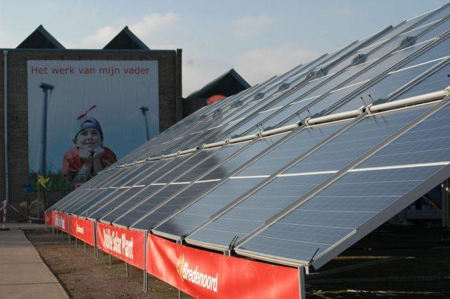 Bredenoord Mobile Solar Plant