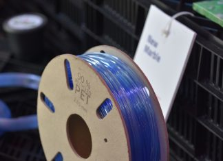 Recycled Plastic 3D Print Filament