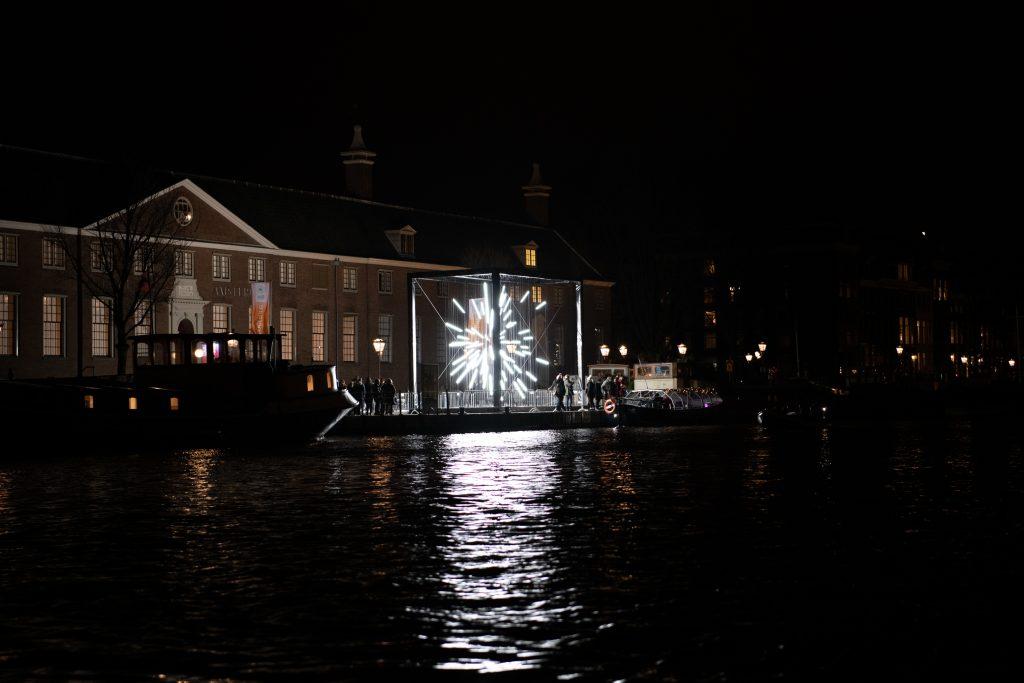 Nothing Holding Us tijdens Amsterdam Light Festival 2019